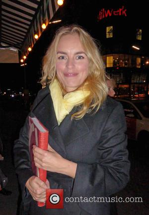 Nina Hoss - Celebrities are attending Julian Schnabel's 64th birthday party at Paris Bar - Berlin, Germany - Monday 26th...