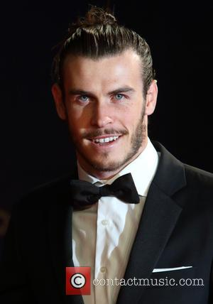 Gareth Bale - World Premiere of 'Spectre' attended by HRH Prince William Duke of Cambridge, HRH Katherine, Duchess of Cambridge...