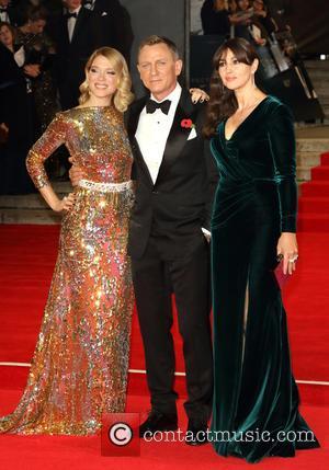 Lea Seydoux, Daniel Craig , Monica Bellucci - World Premiere of 'Spectre' attended by HRH Prince William Duke of Cambridge,...