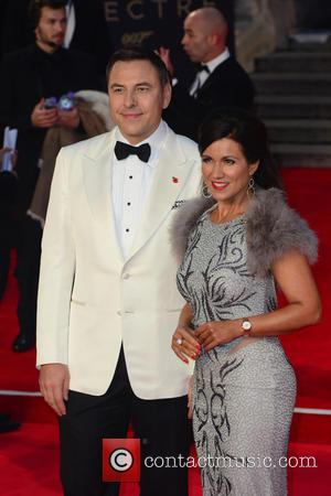 David Walliams , Susanna Reid - Royal film premiere of James Bond Spectre at the Royal Albert Hall, London. at...