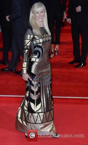 Joely Richardson - Royal film performance of 'Spectre' at Royal Albert Hall at Royal Albert Hall - London, United Kingdom...