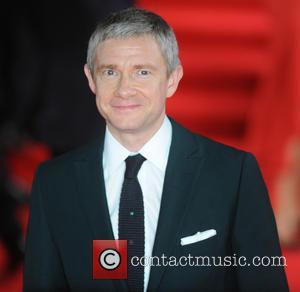 Martin Freeman - Royal film performance of 'Spectre' at Royal Albert Hall at Royal Albert Hall - London, United Kingdom...