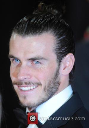 Gareth Bale - Royal film performance of 'Spectre' at Royal Albert Hall at Royal Albert Hall - London, United Kingdom...
