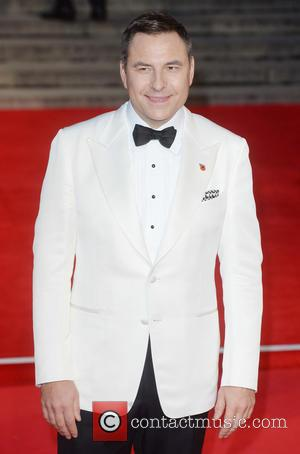 David Walliams - Royal film performance of 'Spectre' at Royal Albert Hall at Royal Albert Hall - London, United Kingdom...