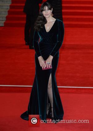 Monica Bellucci - Royal film performance of 'Spectre' at Royal Albert Hall at Royal Albert Hall - London, United Kingdom...