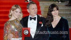 Monica Bellucci, Lea Seydoux , Daniel Craig - Royal film performance of 'Spectre' at Royal Albert Hall at Royal Albert...