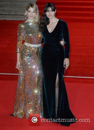 Monica Bellucci , Lea Seydoux - Royal film performance of 'Spectre' at Royal Albert Hall at Royal Albert Hall -...