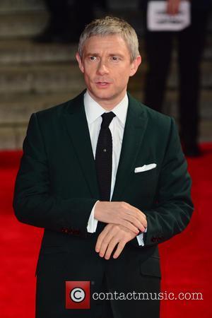 Martin Freeman - Royal film performance of 'Spectre' at Royal Albert Hall - Red Carpet Arrivals at Royal Albert Hall...