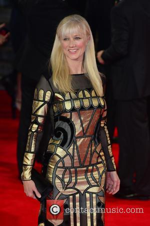 Joely Richardson - Royal film performance of 'Spectre' at Royal Albert Hall - Red Carpet Arrivals at Royal Albert Hall...