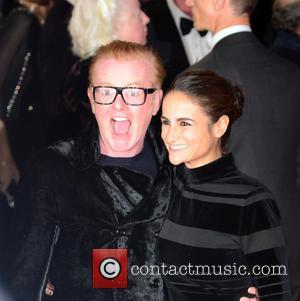 Chris Evans , Natasha Shishmanian - Royal world premiere of 'Spectre' at Royal Albert Hall - Red Carpet Arrivals at...
