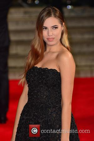 Amber Le Bon - Royal film performance of 'Spectre' at Royal Albert Hall - Red Carpet Arrivals at Royal Albert...