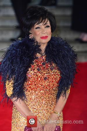 Shirley Bassey - Royal film performance of 'Spectre' at Royal Albert Hall - Red Carpet Arrivals at Royal Albert Hall...