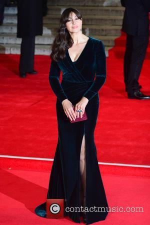 Monica Bellucci - Royal film performance of 'Spectre' at Royal Albert Hall - Red Carpet Arrivals at Royal Albert Hall...