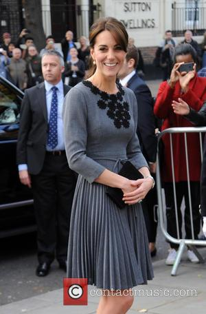 Duchess Of Cambridge - Duchess Of Cambridge arrives at Islington Town Hall for a Charity Event. - London, United Kingdom...