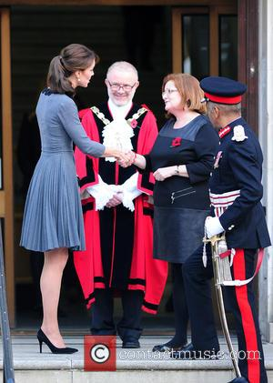 Kate Middleton , Duchess of Cambridge - Catherine Middleton the Duchess of Cambridge is spotted leaving the Islington Town Hall...