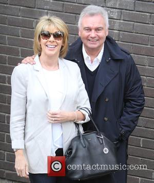 Eamonn Holmes , Ruth Langsford - Eamonn Holmes and Ruth Langsford outside ITV Studios - London, United Kingdom - Tuesday...