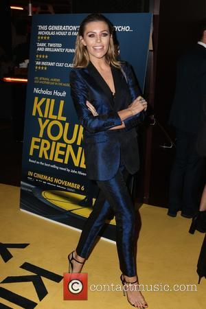 Abbey Clancy - Guest arrivals at Kill Your Friends Screening at Curzon, Soho - London, United Kingdom - Tuesday 27th...