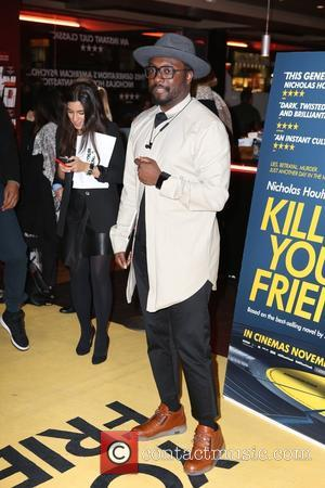Will.i.am - Guest arrivals at Kill Your Friends Screening at Curzon, Soho - London, United Kingdom - Tuesday 27th October...