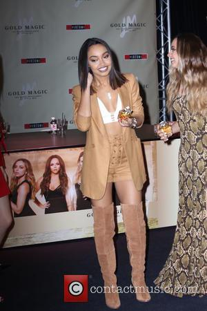 Leigh-Anne Pinnock , Jade Thirlwall - Little Mix launch their first perfume Gold Magic at the Bluewater Centre in Kent....