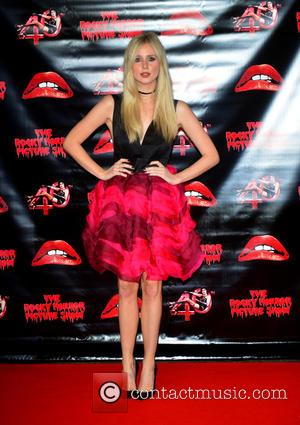 Diana Vickers - The Rocky Horror Picture Show 40th anniversary screening at Royal Albert Hall at Royal Albert Hall -...