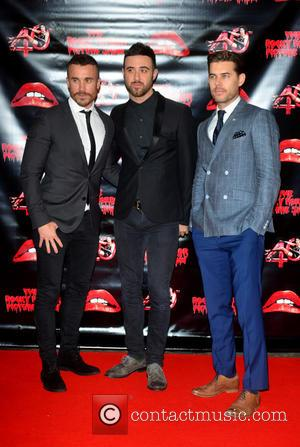 Lachie Chapman, Darren Everest , Mike Crasha - The Rocky Horror Picture Show 40th anniversary screening at Royal Albert Hall...