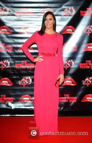 Linzi Stoppard - The Rocky Horror Picture Show 40th anniversary screening at Royal Albert Hall at Royal Albert Hall -...