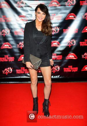 Lizzie Cundy - The Rocky Horror Picture Show 40th anniversary screening at Royal Albert Hall at Royal Albert Hall -...