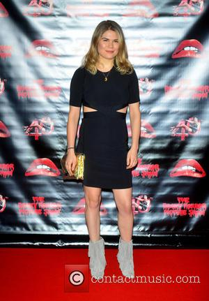 Madeleine  Shaw - The Rocky Horror Picture Show 40th anniversary screening at Royal Albert Hall at Royal Albert Hall...