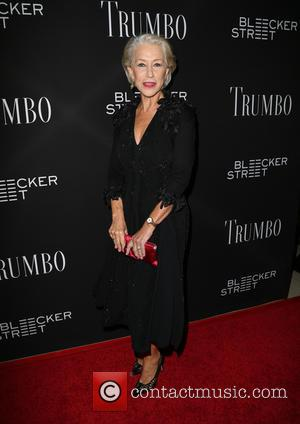 Helen Mirren - U.S. Premiere of 'Trumbo' at Samuel Goldwyn Theater - Arrivals at Samuel Goldwyn Theater - Beverly Hills,...