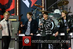 5 Seconds of Summer - 5 Seconds Of Summer perform on NBC's 'Today' show in New York - Manhattan, New...