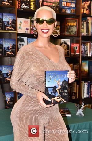 Amber Rose - Amber Rose book signing
