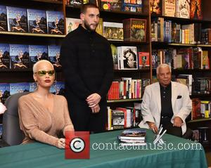 Amber Rose , Poppy Sonny Rose - Amber Rose book signing