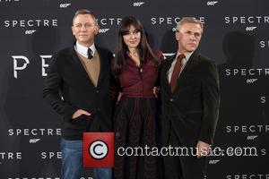 Daniel Craig, Monica Bellucci and Christoph Waltz
