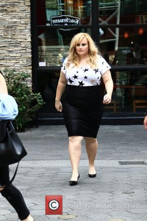 Rebel Wilson - Rebel Wilson is on the set of Extra! at Universal Studios Hollywood at Universal Studios Hollywood -...