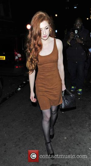 NICOLA ROBERTS - Celebrities night out at Soho House after Kill Your Friends - VIP film screening at Curzon Soho...