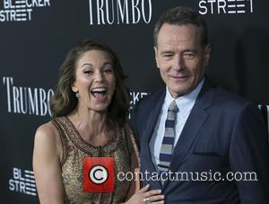 Diane Lane , Bryan Cranston - Celebrities attend the U.S. Premiere of TRUMBO at Academy of Motion Picture Arts &...