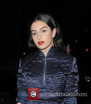 Charli XCX - Charli XCX arrives at Natural History Museum for her performance at the Ice Rink - launch event....