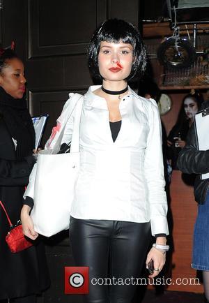 Nina Nesbitt - Celebrities attend Fran Cutler's Halloween Party at Cuckoo Club - London, United Kingdom - Wednesday 28th October...