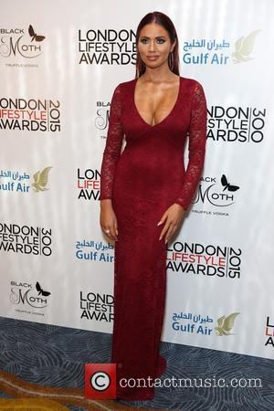 Amy Childs - Guests arrivals at the London Lifestyle Awards 2015 at Hilton, Park Lane - London, United Kingdom -...