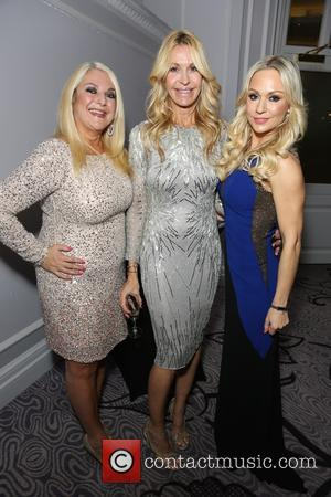 Vanessa Feltz, Melissa Odabash , Kristina Rhianoff - Guests arrivals at the London Lifestyle Awards 2015 at Hilton, Park Lane...
