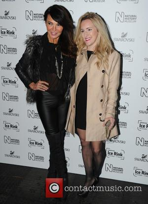 Lizzie Cundy - Natural History Museum Swarovski Ice Rink Launch Party in London. - London, United Kingdom - Wednesday 28th...