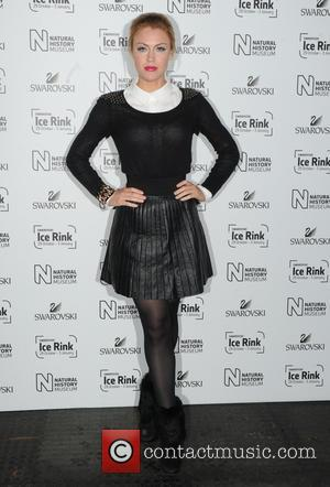 Camilla Kerslake - Natural History Museum Swarovski Ice Rink Launch Party in London. - London, United Kingdom - Wednesday 28th...