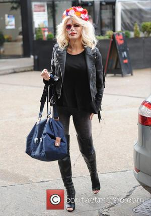 Chloe Sims - The Only Way Is Essex cast seen out in London filming for their Halloween. - London, United...