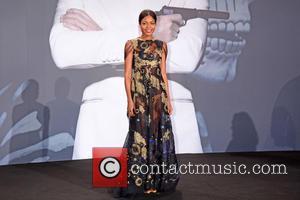 Naomie Harris - German premiere of James Bond 007 Spectre at CineStar movie theatre at Sony Center on Potsdamer Platz....
