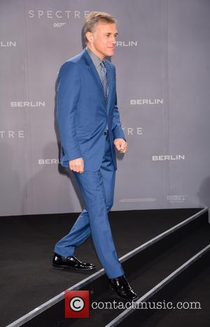 Christoph Waltz - German premiere of James Bond 007 Spectre at CineStar movie theatre at Sony Center on Potsdamer Platz....