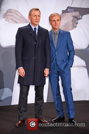 Daniel Craig , Christoph Waltz - German premiere of James Bond 007 Spectre at CineStar movie theatre at Sony Center...