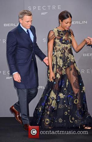 Daniel Craig , Naomie Harris - German premiere of James Bond 007 Spectre at CineStar movie theatre at Sony Center...