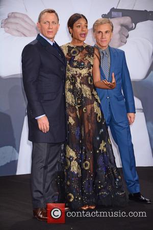 Daniel Craig, Naomie Harris , Christoph Waltz - German premiere of James Bond 007 Spectre at CineStar movie theatre at...