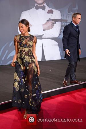 Naomie Harris , Daniel Craig - German premiere of James Bond 007 Spectre at CineStar movie theatre at Sony Center...