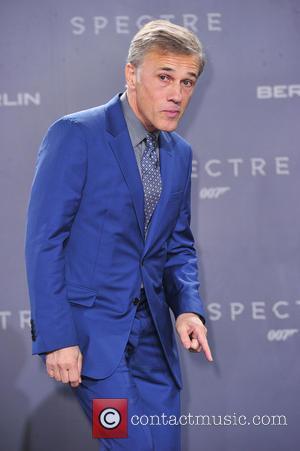 Christoph Waltz - James Bond Spectre Premiere in Berlin - Berlin, Germany - Wednesday 28th October 2015